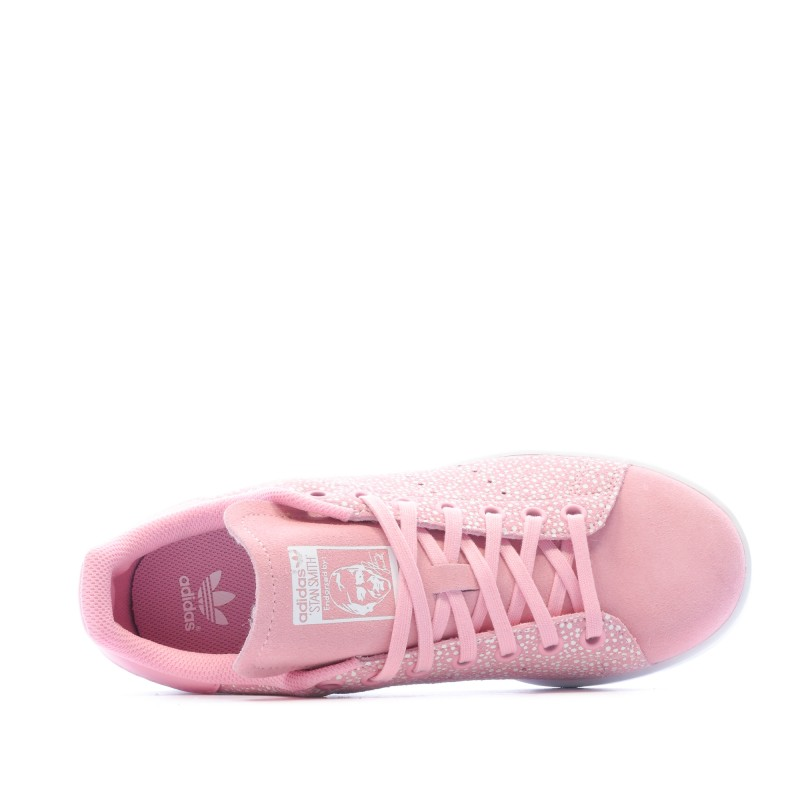 Stan Smith baskets roses fille Adidas pas cher   Espace des Marques