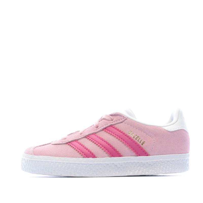 GAZELLE Baskets Roses Fille Adidas pas cher | Espace des Marques