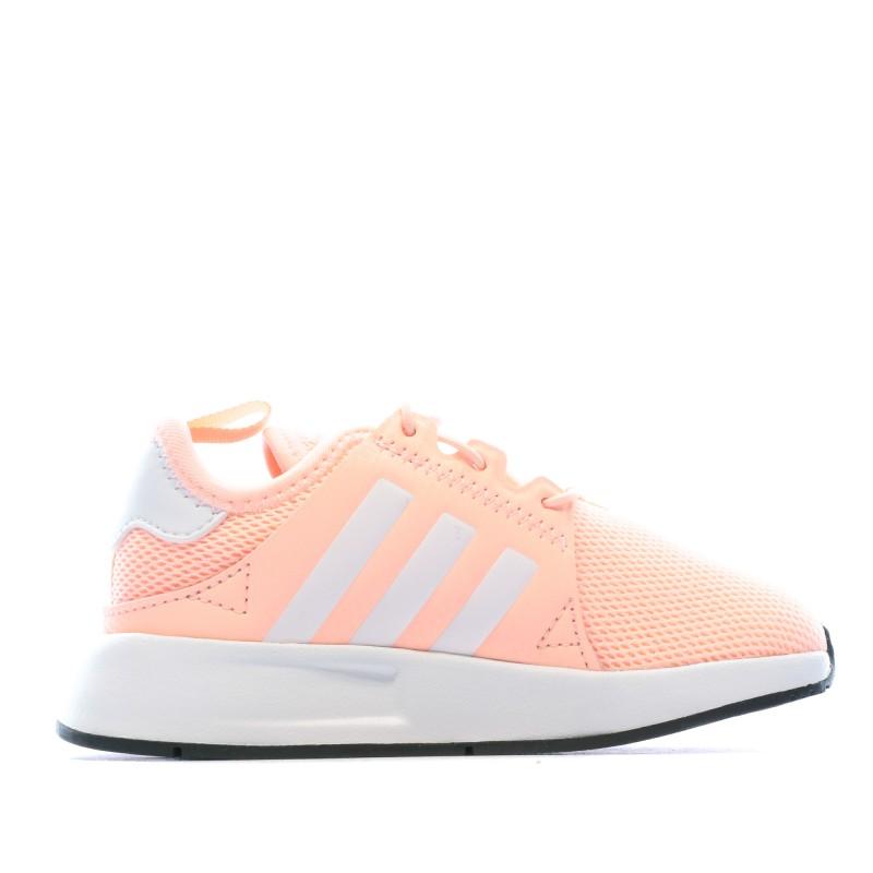 Baskets Orange fille Adidas