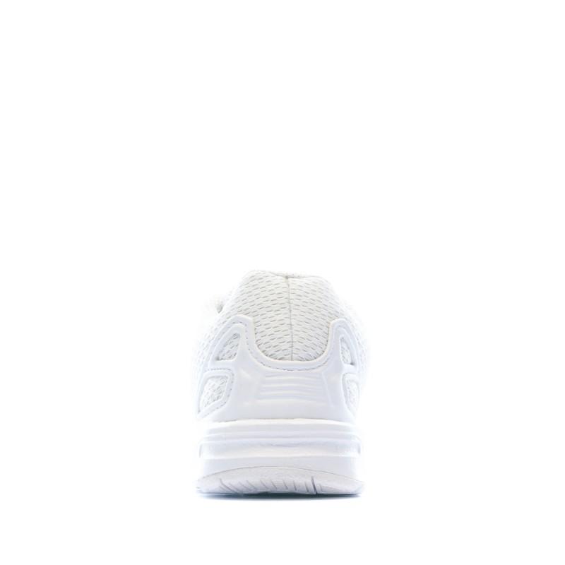 Baskets Blanc Bébé Adidas ZX FLUX EL I pas cher | Espace des Marques