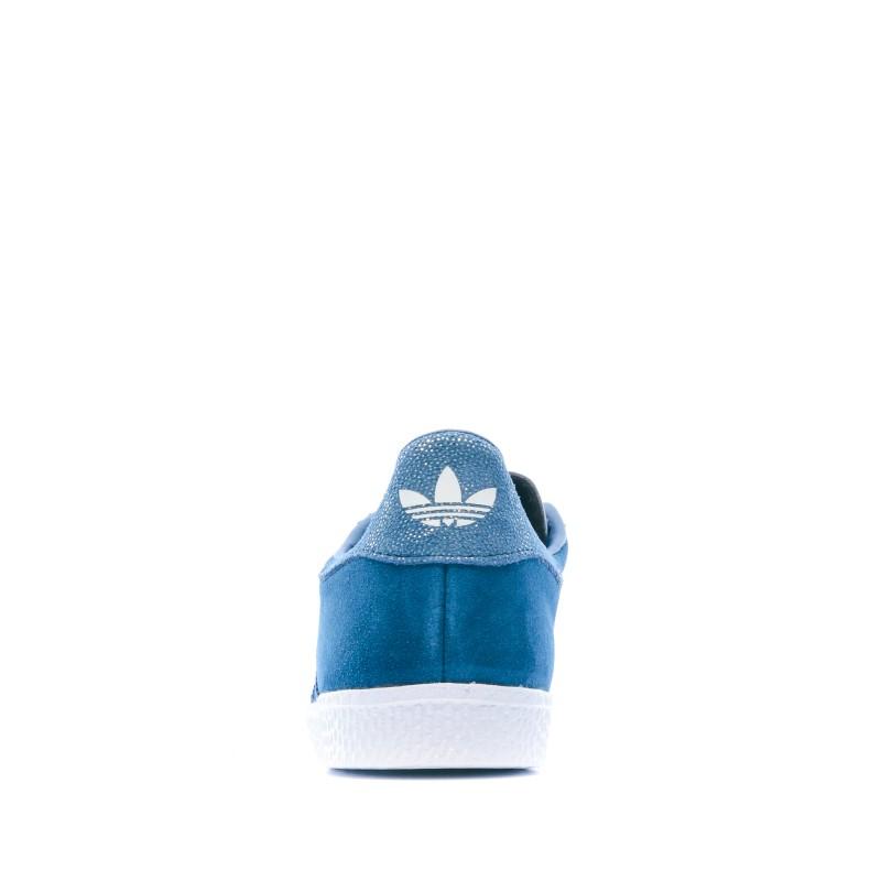 Gazelle Basket bleue fille Adidas pas cher | Espace des Marques