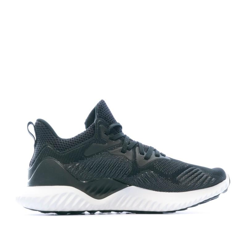 Alphabounce chaussures de running noires femme Adidas |Espace des Marques