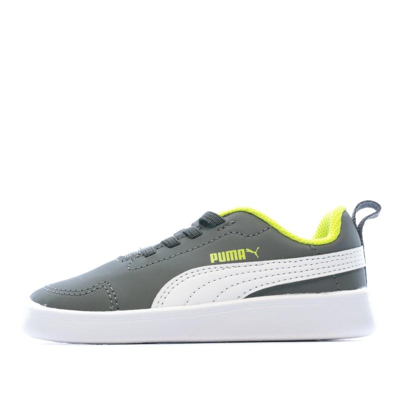 puma courtflex inf sneakers basses mixte enfant