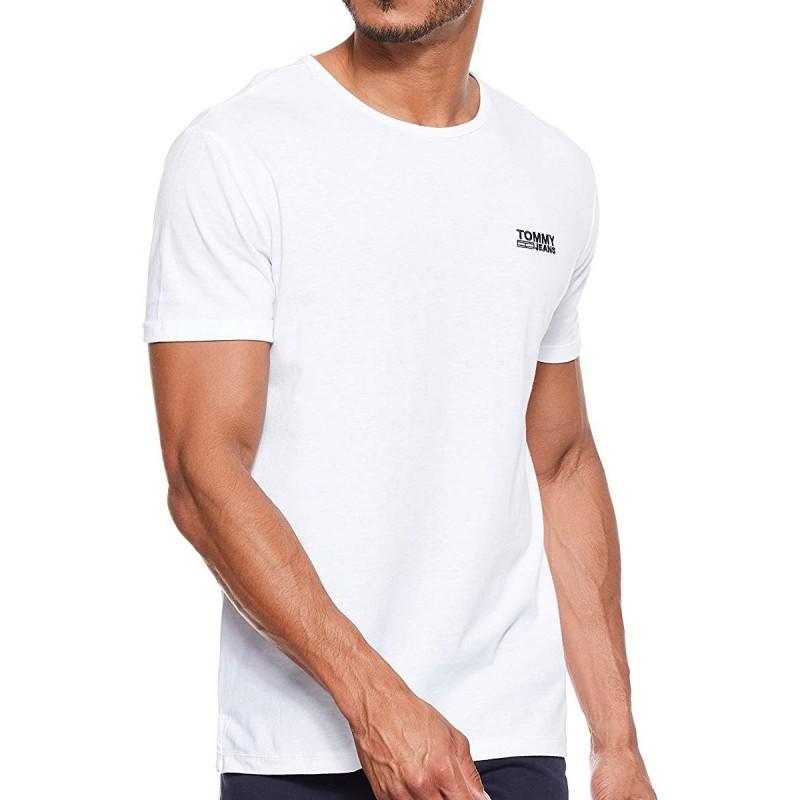 T-shirt Blanc Homme Tommy Hilfiger TJM pas