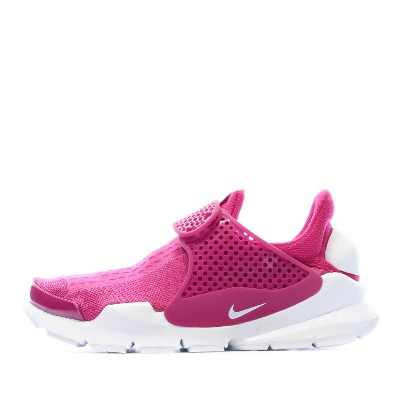 Achats Sock Dart Baskets Rose Femme Nike pas cher | Espace des Marques