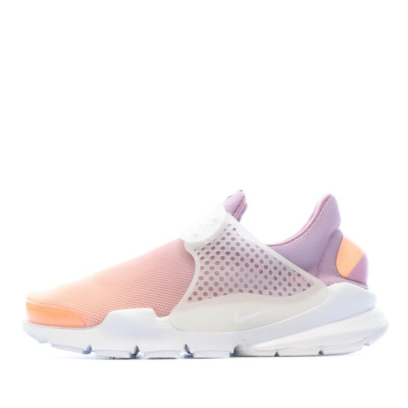 Acheter Sneaker Violet Orange Femme Nike pas cher   Espace des Marques