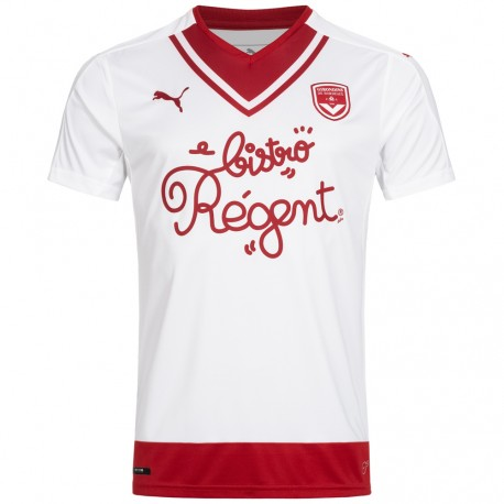 Girondins de Bordeaux Maillot de Foot Blanc Garçon Puma pas cher