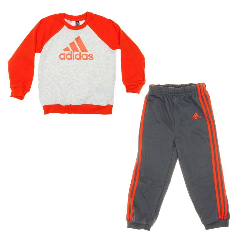 adidas survetement orange
