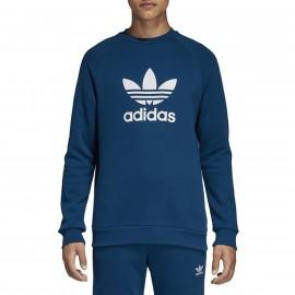 Sweat Kaki Homme Adidas LINEAR CREW pas cher | Espace des