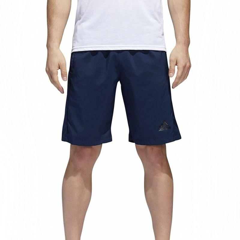 Achat Short Marine Homme Adidas D2M 3S pas cher   Espace des Marques