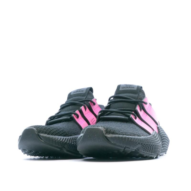 Prophere Baskets Noir rose Femme Adidas pas cher | Espace des Marques
