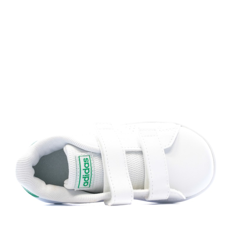 Achat Baskets blanc bébé Adidas Advantage pas cher | Espace