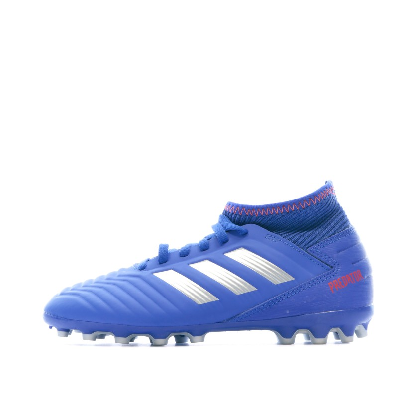 Adidas Predator 19.3 AG Chaussures de foot bleu | Espace des Marques