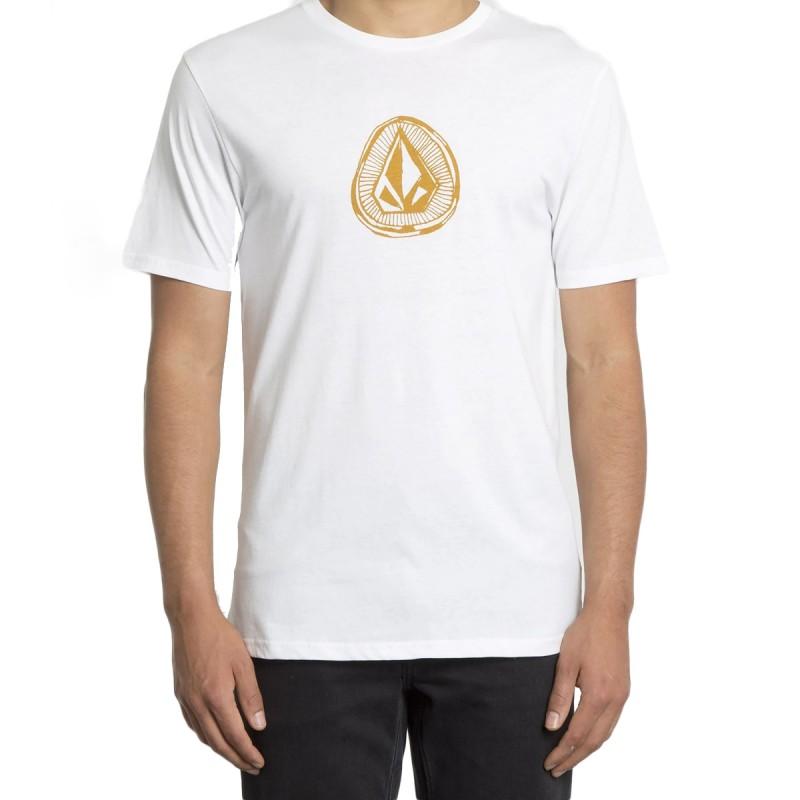 Acheter T-shirt Blanc Homme Volcom Stone