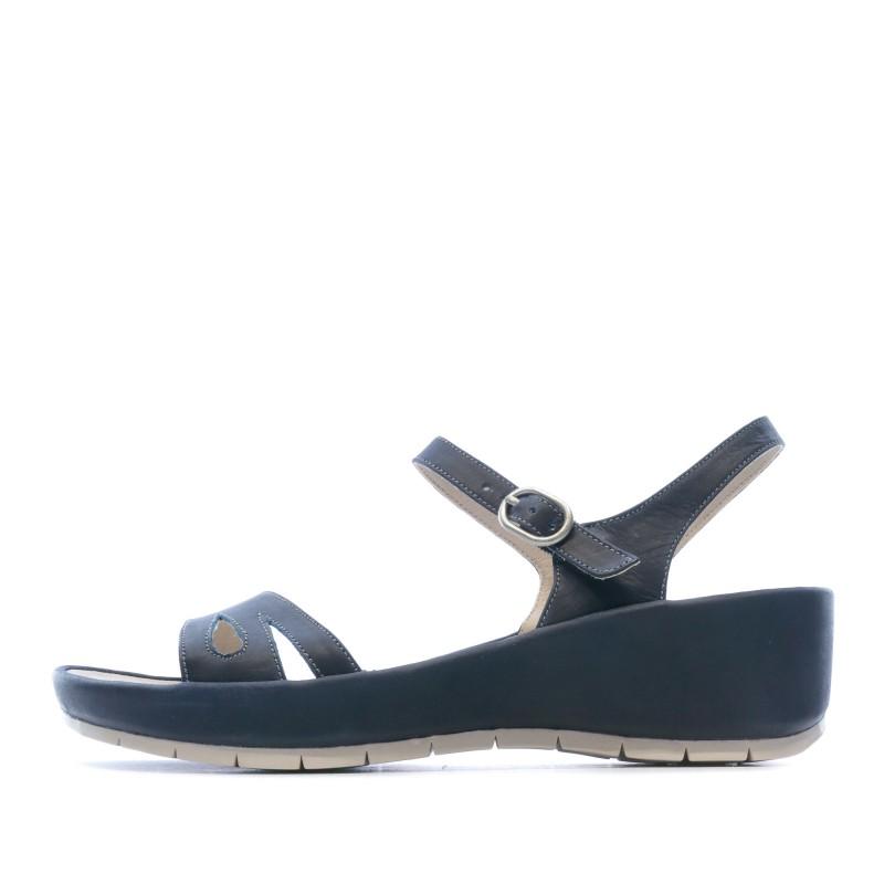 Sandales bleues femme TBS Lorette pas cher | Espace des Marques