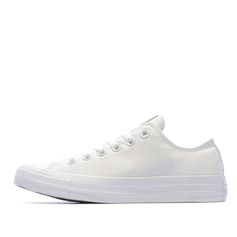 converse all star basse blanche fille