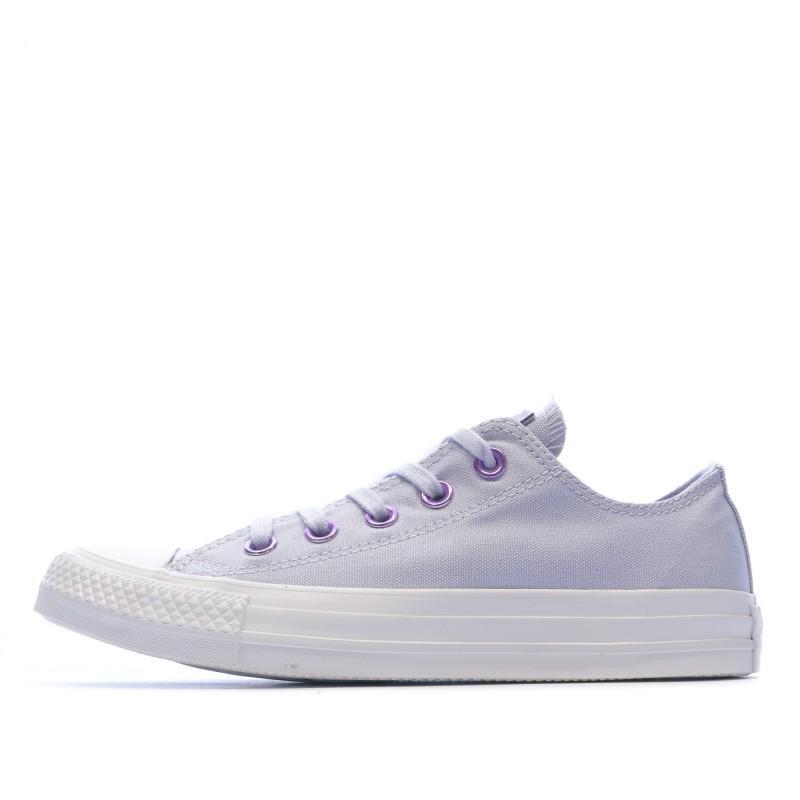 converse all star femme violette