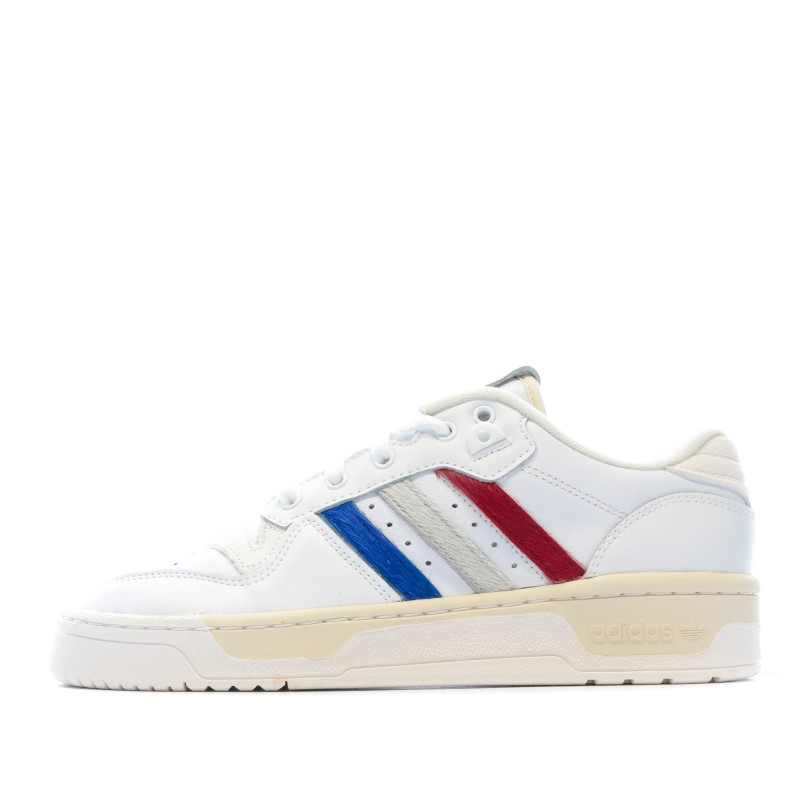 RIVALRY LOW Baskets Banches Homme Adidas pas cher | Espace des Marques