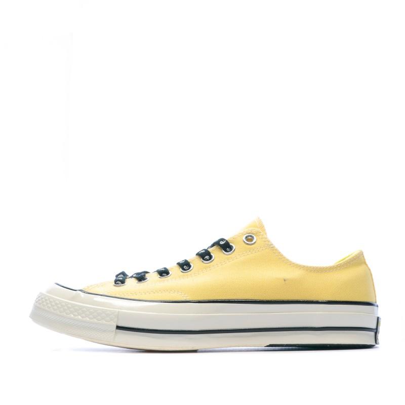 converse solde jaune