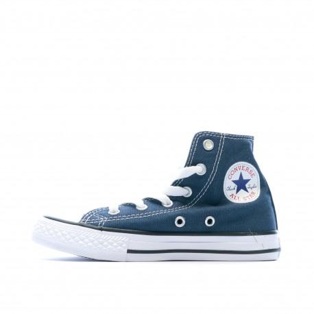baskets converse montante bleue