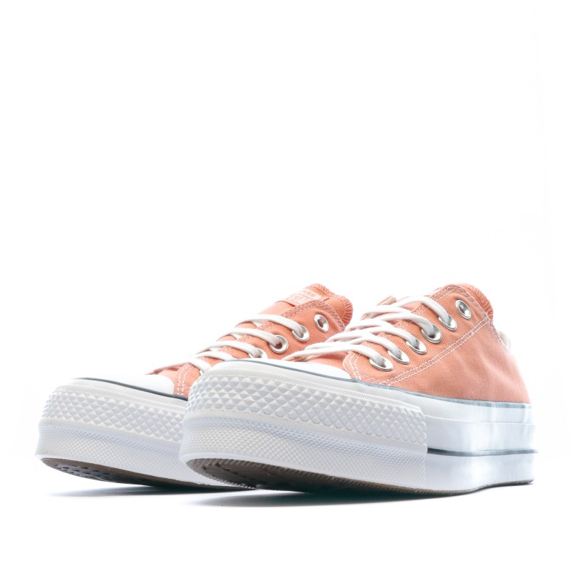 all star converse plateforme femme