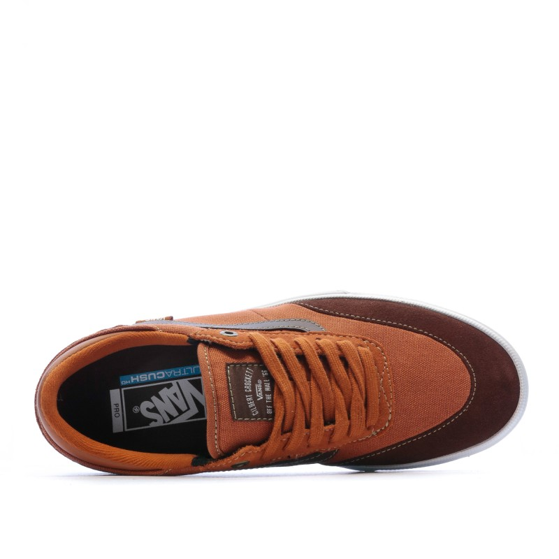 chaussure homme vans marron