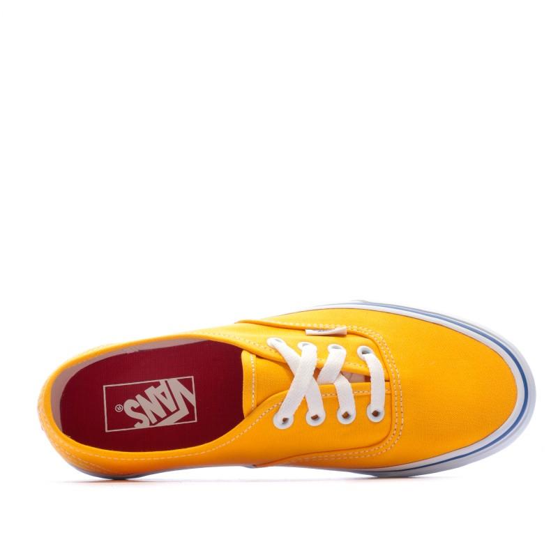 vans 35 fille jaune orange