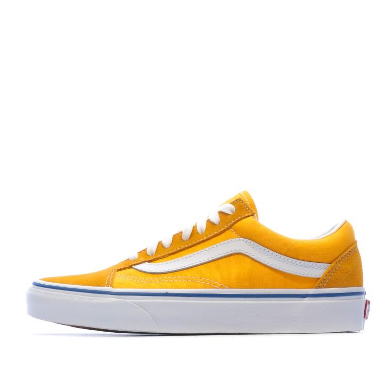 old skool vans jaune femme