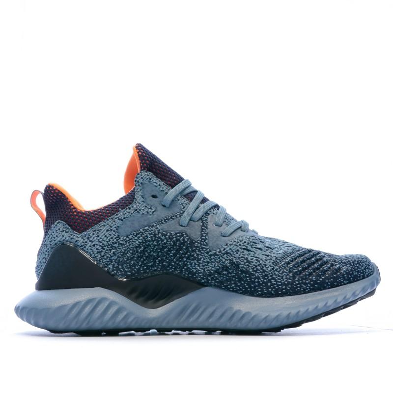 Chaussures de running bleu Adidas alphabounce beyond