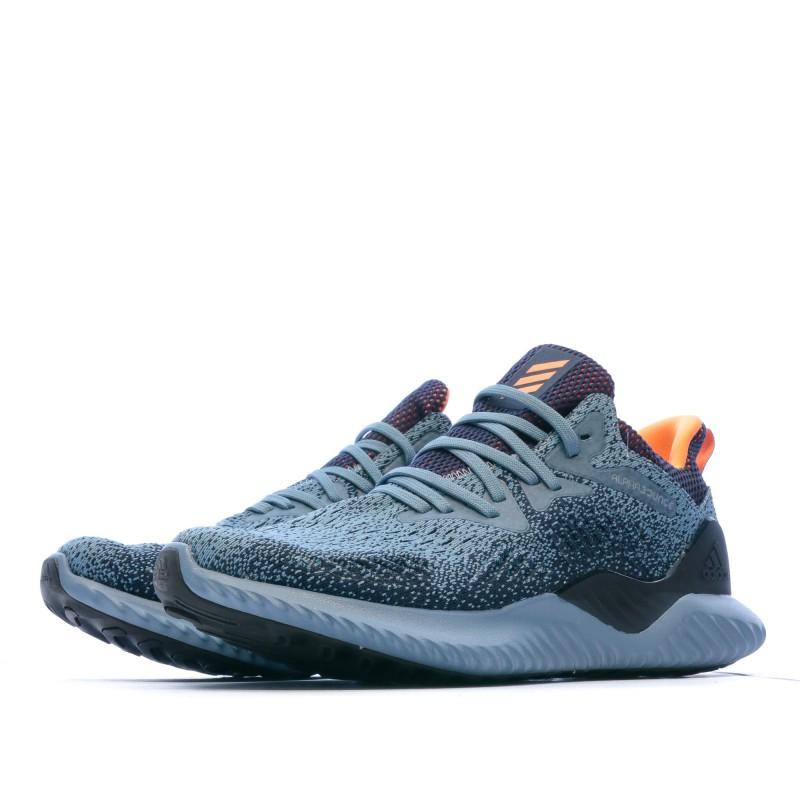 Chaussures de running bleu Adidas alphabounce beyond | Espace des Marques
