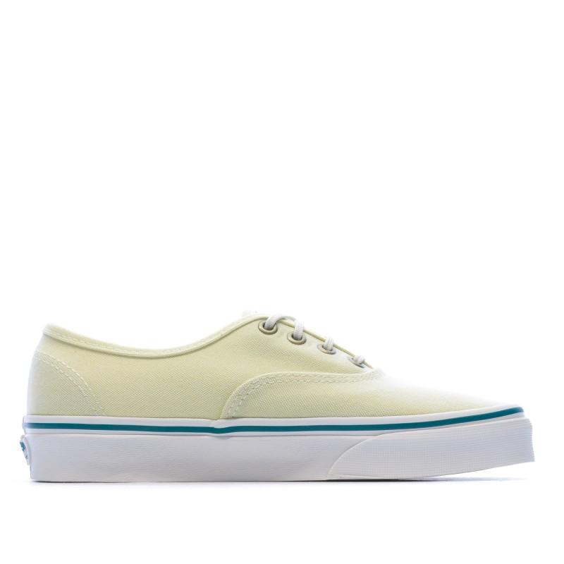 chaussure femme vans basse jaune