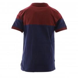 UBB Bordeaux Polo Rugby Marine et bordeaux Garçon Kappa promo