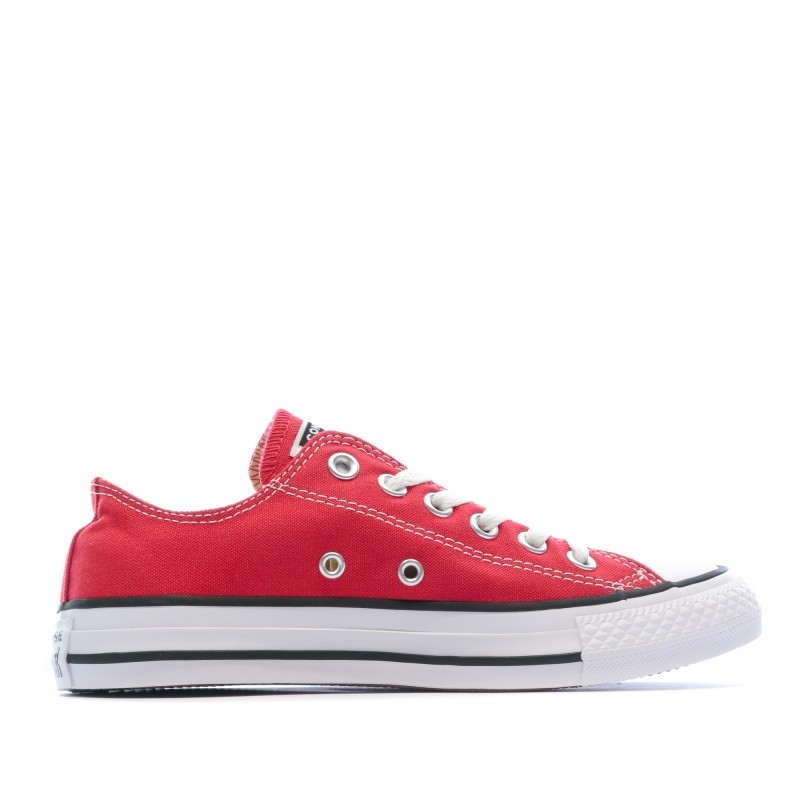 converse homme basse rouge