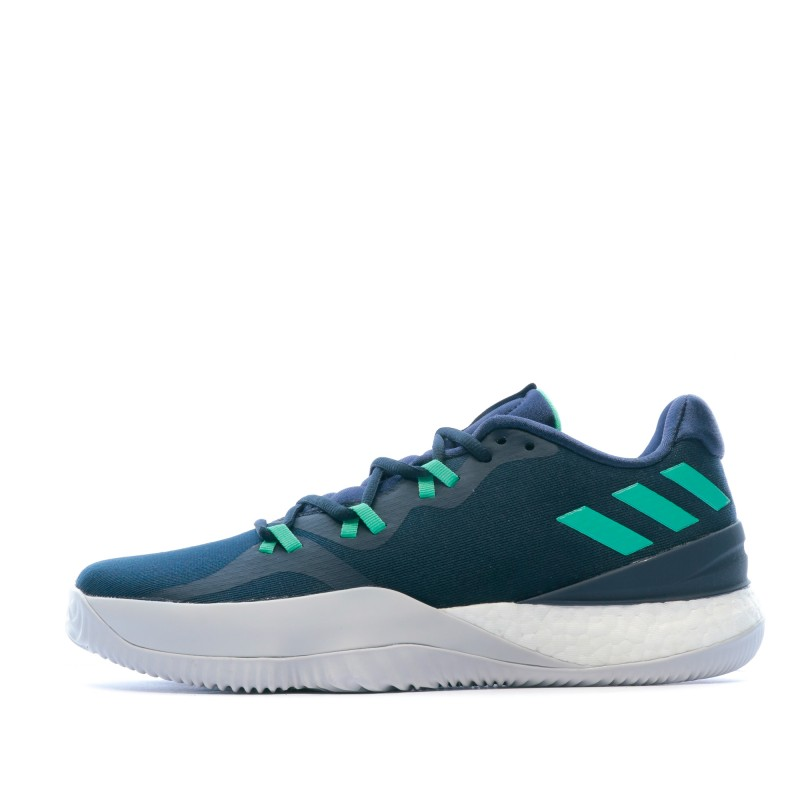 Chaussures basketball marine homme Adidas Crazy Light Boost 2018