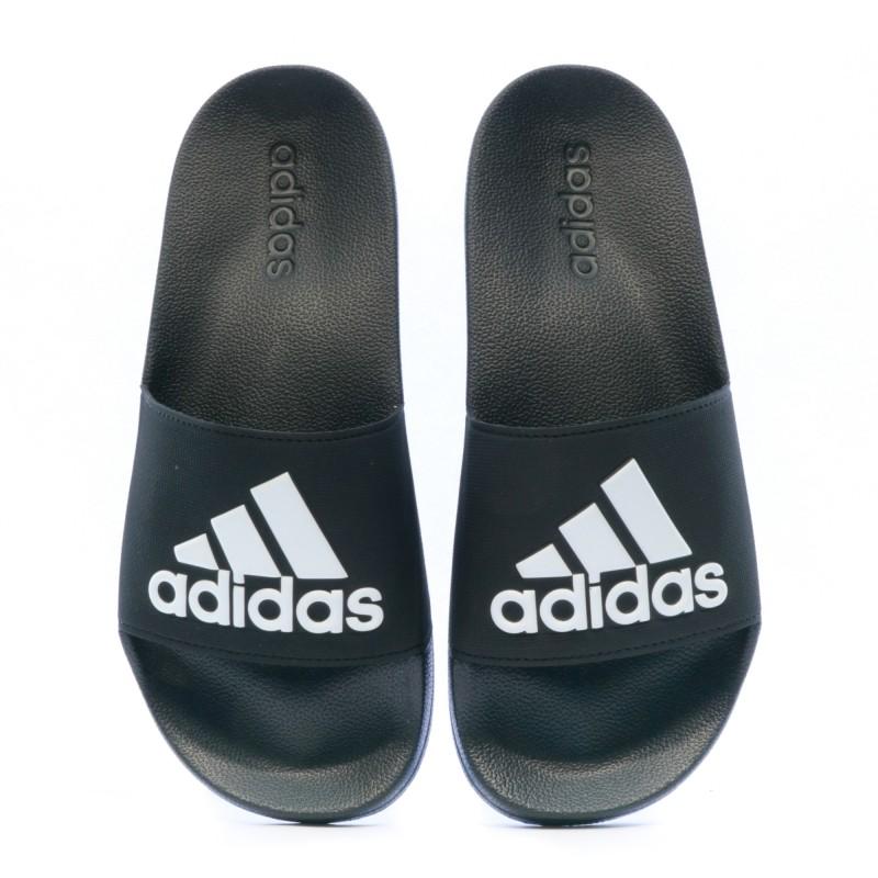 Adidas Hommes Sandales Adilette Cloudfoam Grande Logo