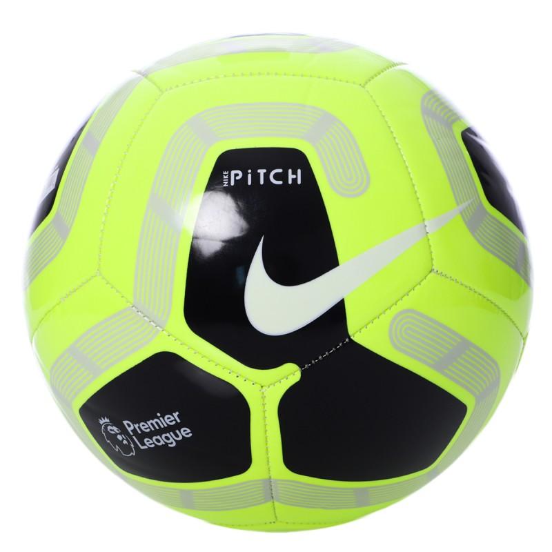 Ballon de foot jaune Nike Pitch Premier League | Espace des Marques