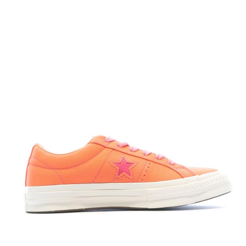 converse orange femme pas cher