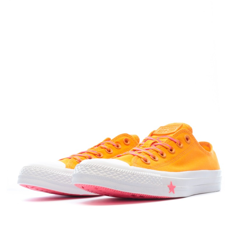 basket converse femmes orange
