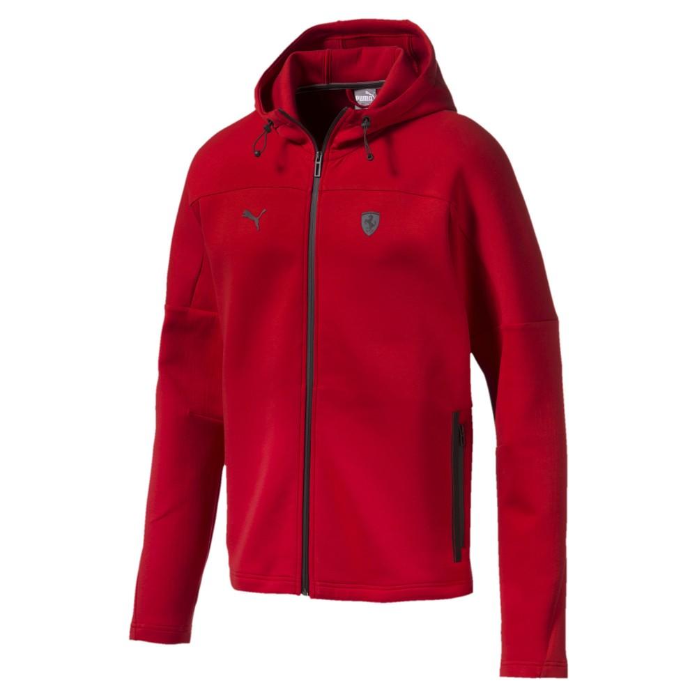 Veste Ferrari Rouge homme Puma Motorsport pas cher