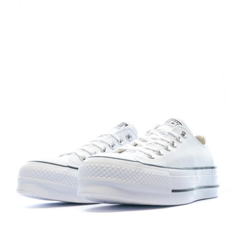 basket blanche converse femme
