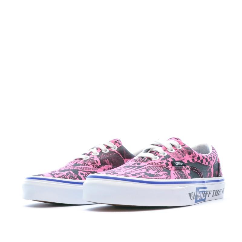 chaussure femme vans pas cher rose