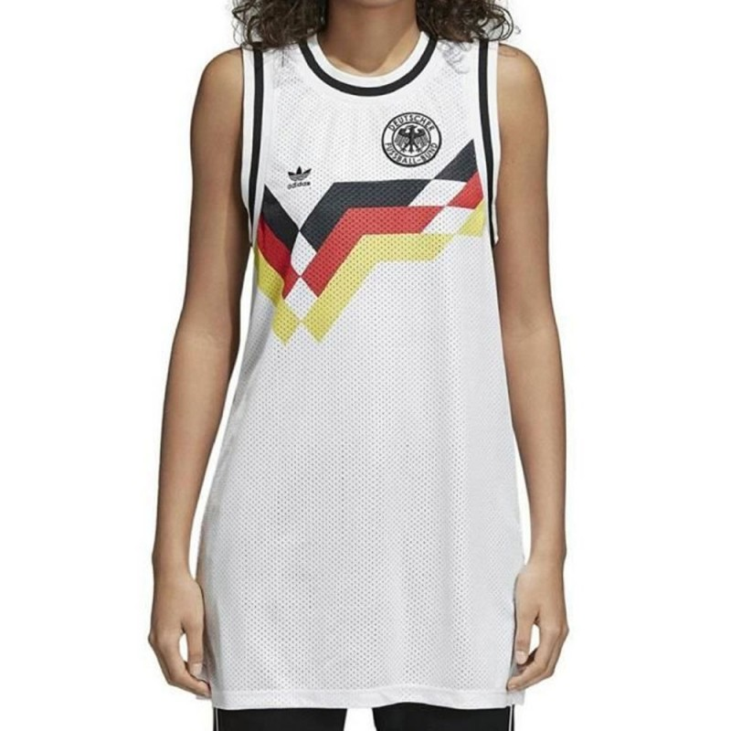Robe maillot football femme Adidas Allemagne | Espace des Marques