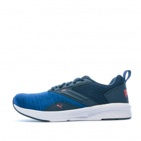 Chaussures de sport bleu garçon Puma NRGY Comet Jr pas cher