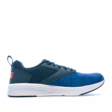 Chaussures de sport bleu garçon Puma NRGY Comet Jr petit prix