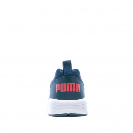 Chaussures de sport bleu garçon Puma NRGY Comet Jr prix réduit