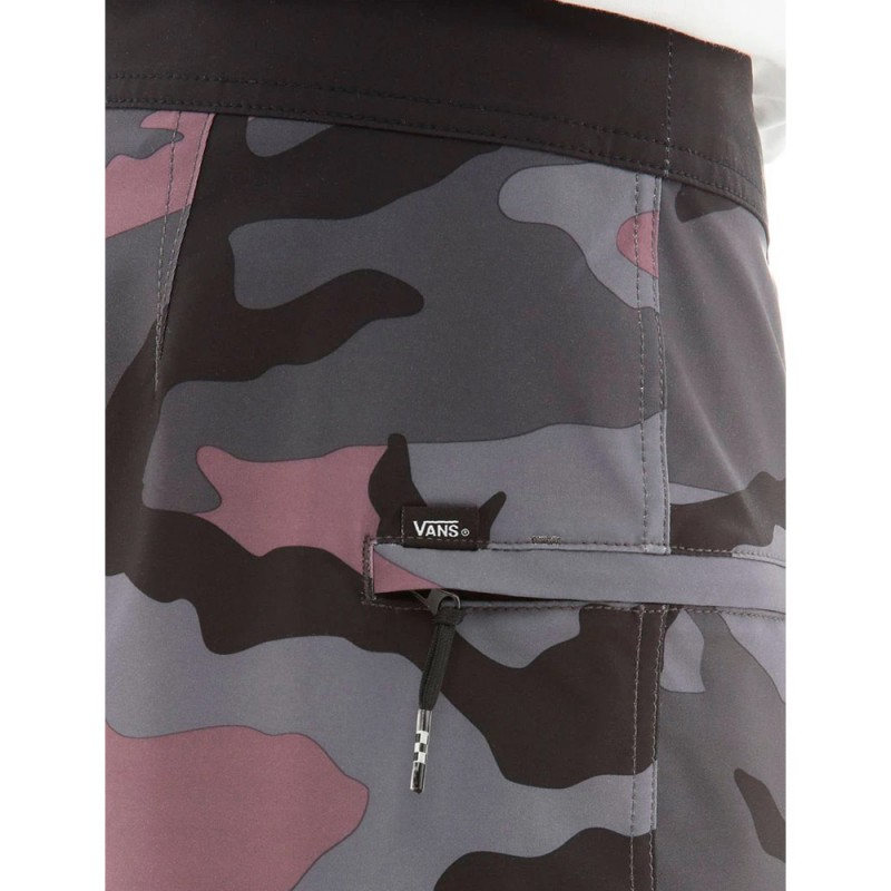 Short de bain Camouflage violet VANS MIXED BOARDSHORT|Espace des Marques