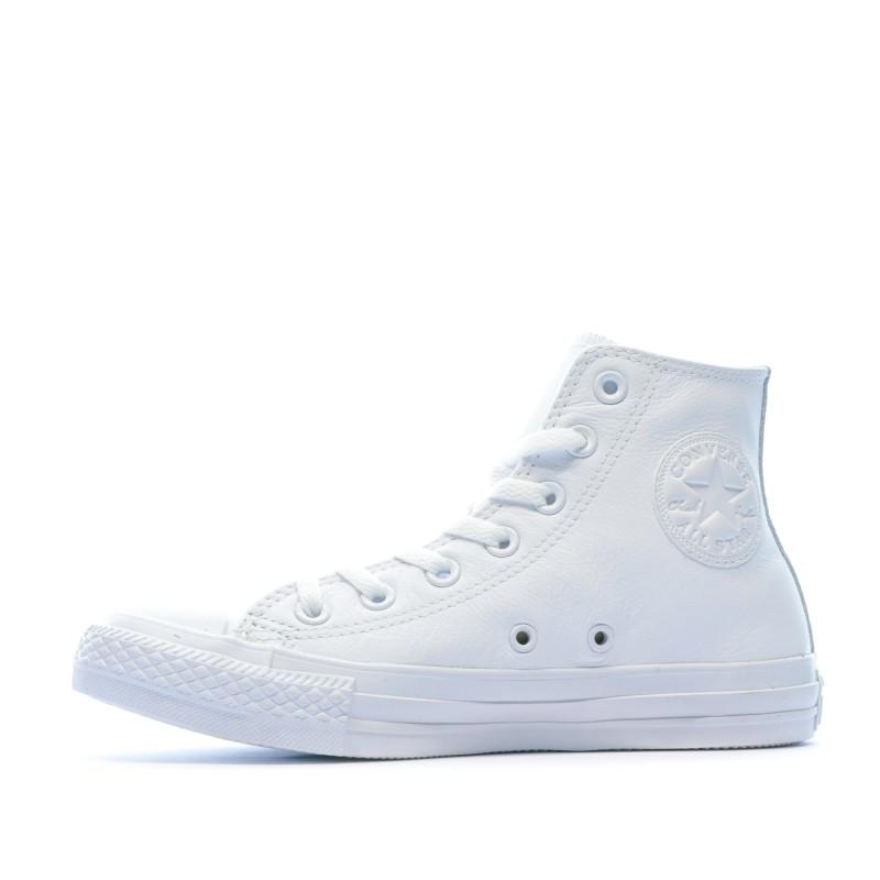 basket blanche converse