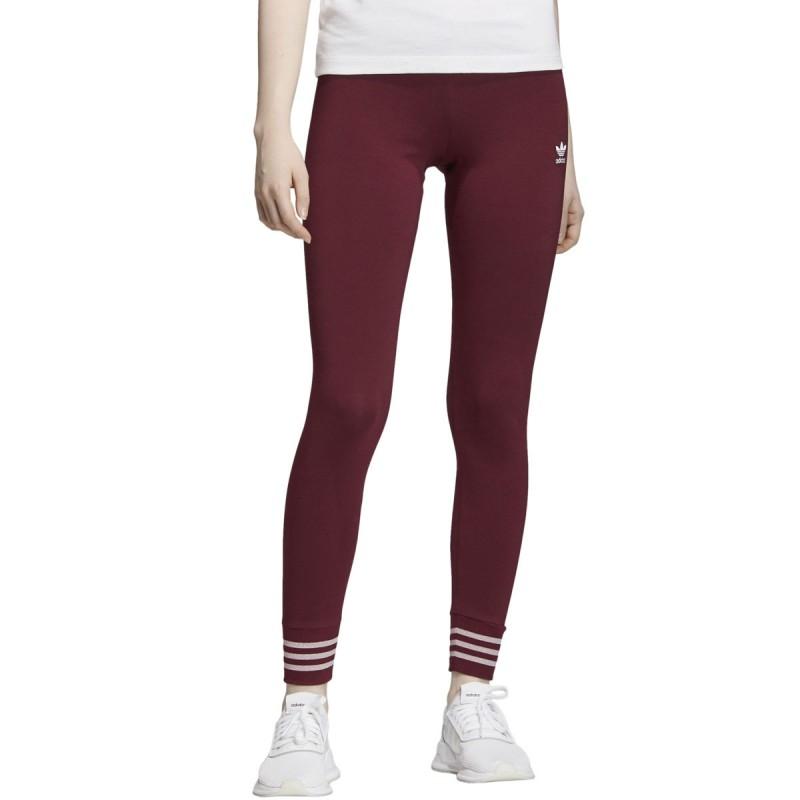 Legging Bordeaux Femme Adidas Tight Pas Cher Espace Des Marques