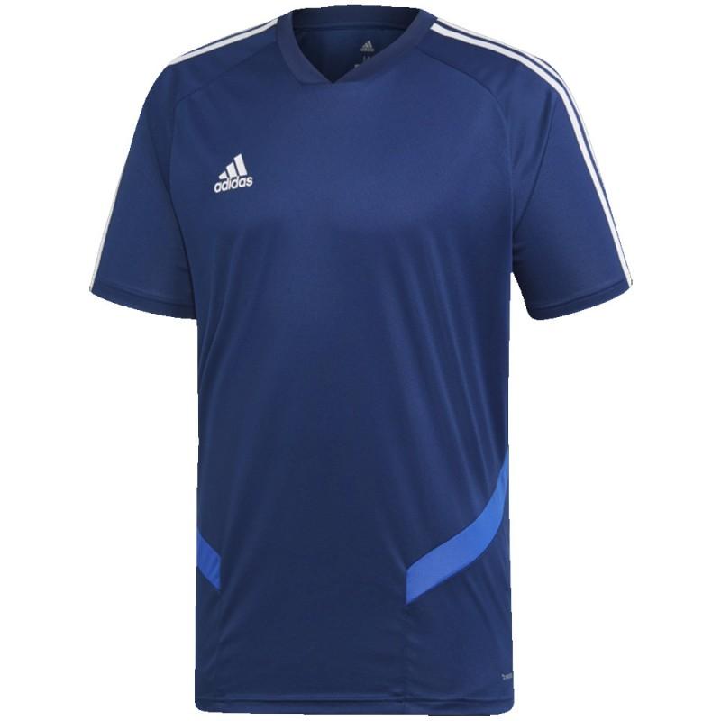 Achat Maillot bleu foncé homme Adidas Tiro 19 pas cher | Espace des Marques