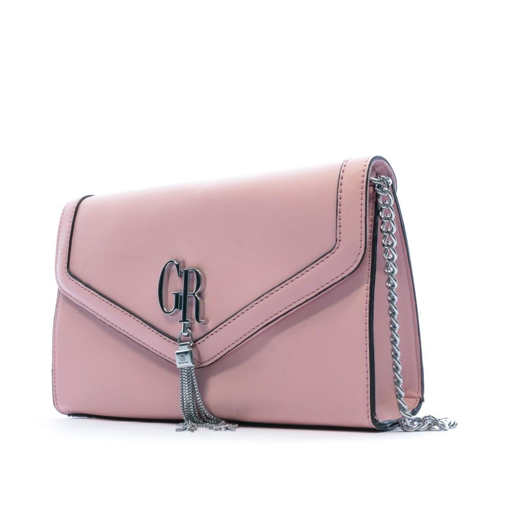 sac bandoulière rose femme georges rech halya pas cher | Espace des marques